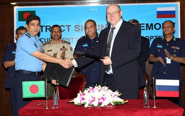 В Бангладеш продали ещё пять вертолётов Ми-171Ш