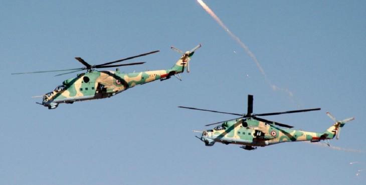 Почему не сработала защита Ми-25 в Сирии, последние кадры сбитого вертолета