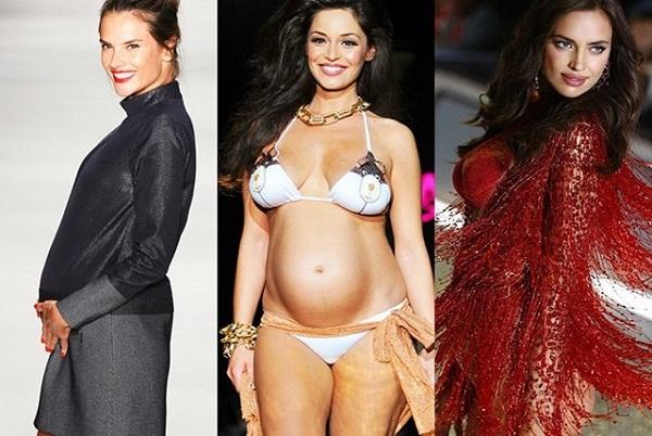 Топ-10 беременных дефиле: круглые животы активно входят в моду