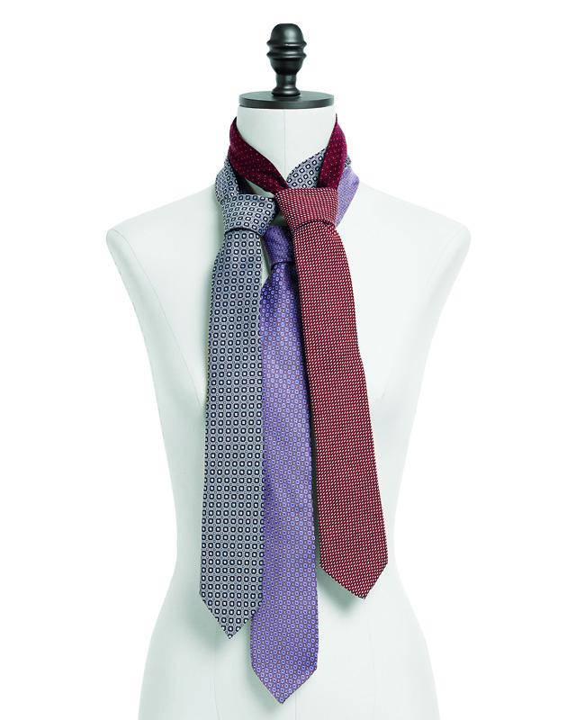Шёлковый галстук своими руками