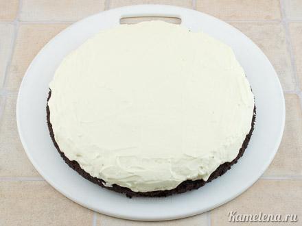 «Дьявольский» шоколадный торт — 8 шаг
