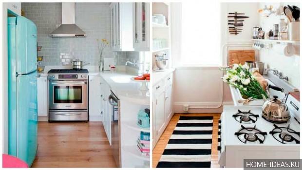Маленькая кухня в хрущевке: дизайн, фото.