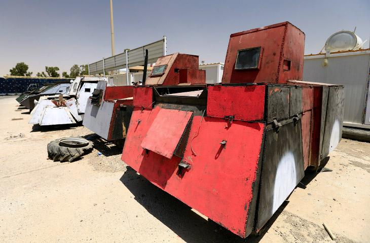 В освобожденном Мосуле нашли модифицированные автомобили из «Безумного Макса»