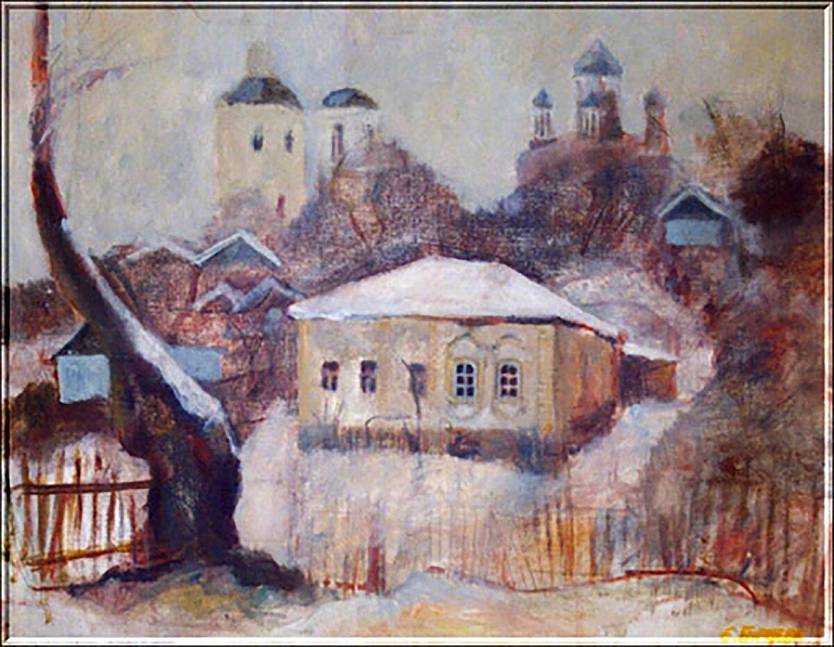 «Дом воеводы», Елена Бурцева.