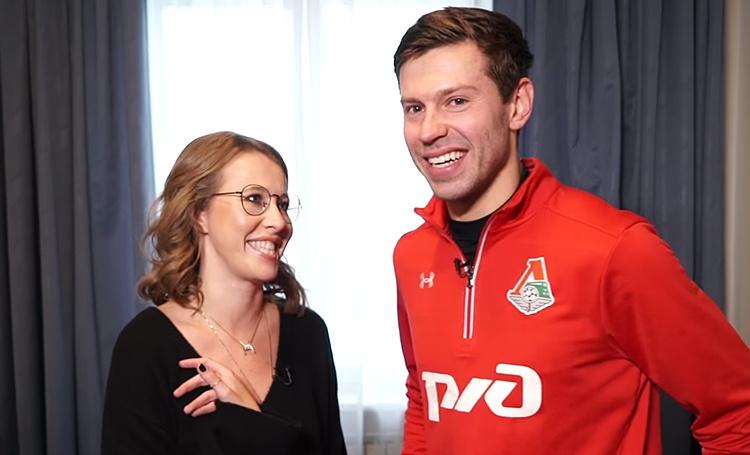 Федор Смолов рассказал Собчак о своей жизни после развода с Лопыревой и незабитом пенальти на Чемпионате мира