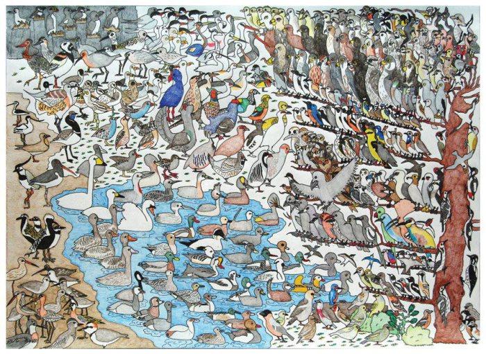 В мире животных: великолепные картины 18-летнего Дэвида Барта, страдающего аутизмом