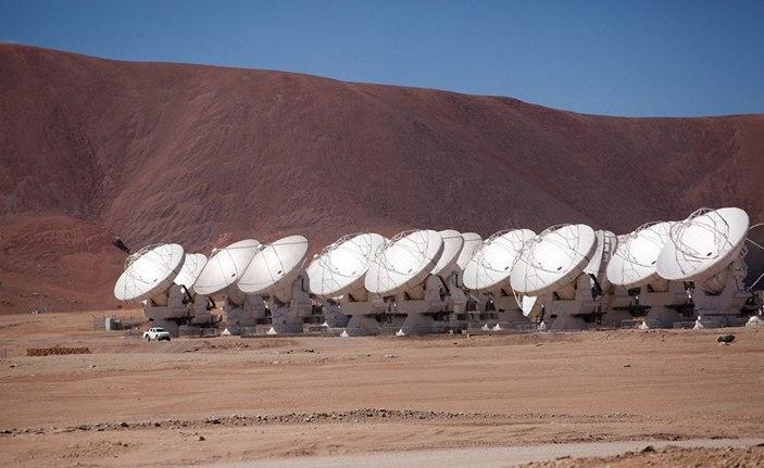 Радиообсерватория ALMA
