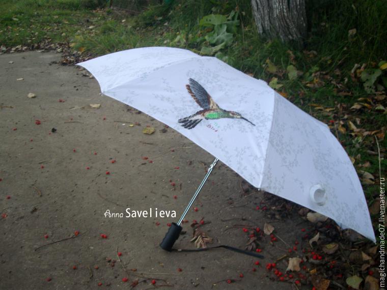 "Преображаем зонтик Ñ Ð¿Ð¾Ð¼Ð¾Ñ‰ÑŒÑŽ вышивки, фото â""– 1"