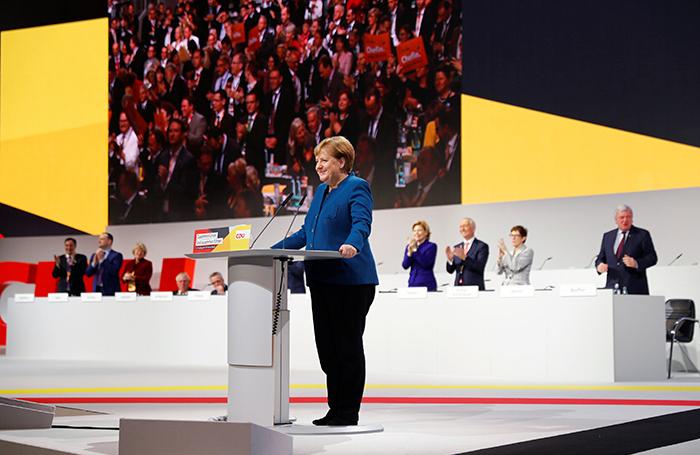 Ангела Меркель растрогала однопартийцев прощальной речью