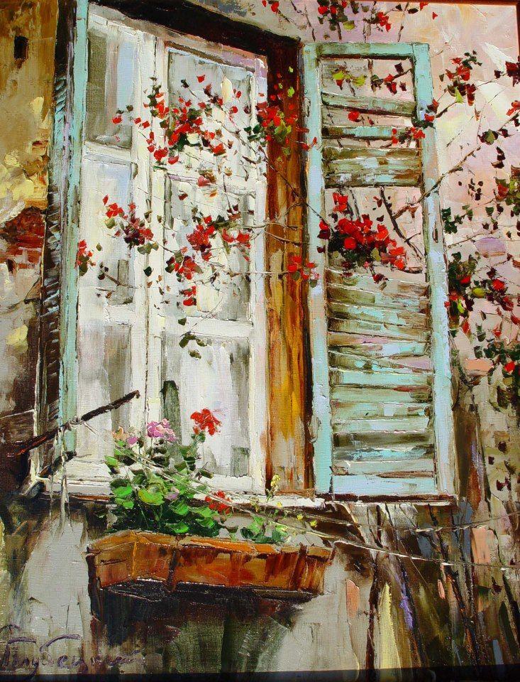 Солнечные зайчики счастья и буйство красок - бесконечно талантливые пейзажи Глеба Голубецкого