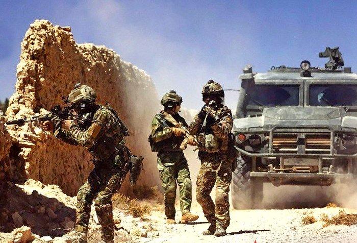 Боец Сил специальных операций РФ погиб в Сирии