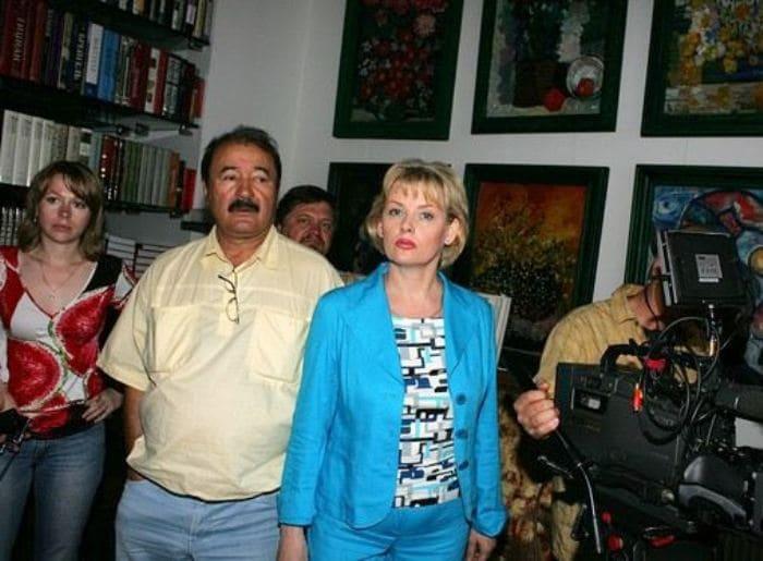 Актриса со вторым мужем Эльером Ишмухамедовым | Фото: uznayvse.ru