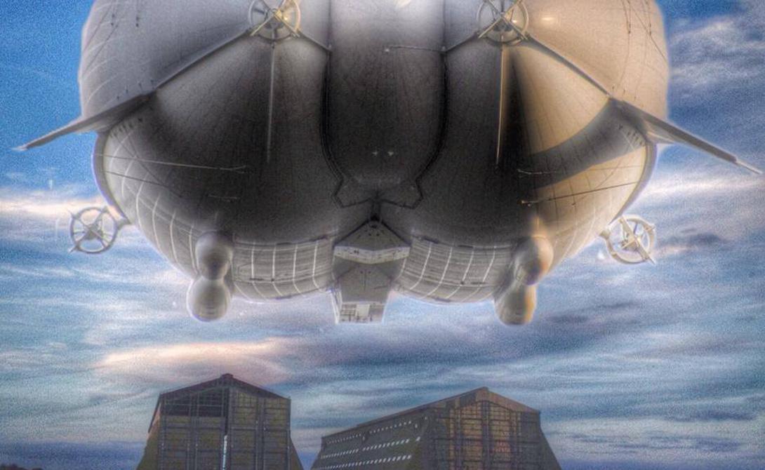 Airlander 10: самое большое воздушное судно в мире