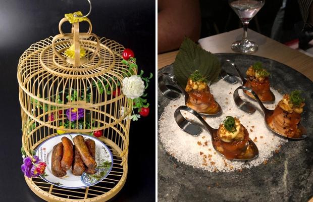 Оригинальные варианты подачи блюд в ресторанах.