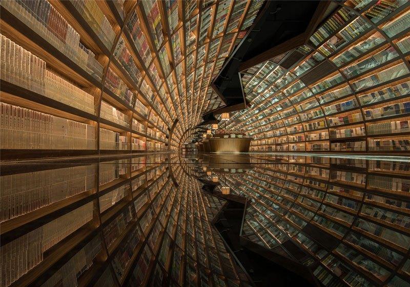 В Китае открылась футуристическая библиотека