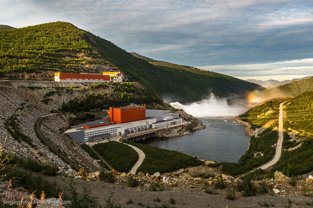 Колымская ГЭС  - самый уникальный проект времен СССР