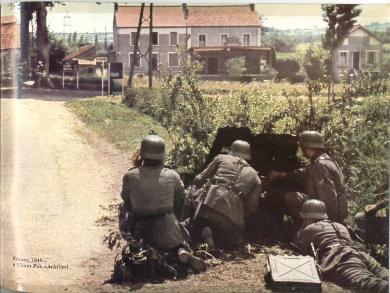 Противотанковая пушка Pak 35/36: теневой символ блицкрига