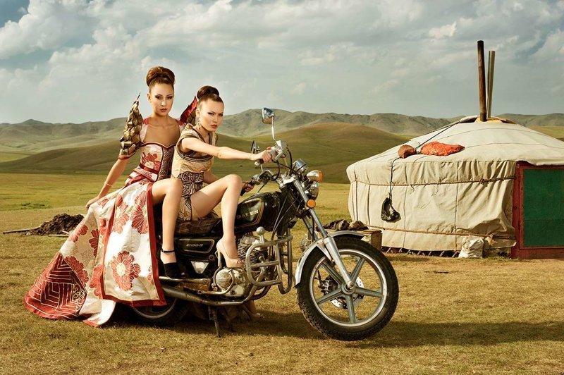 Такие разные монголки