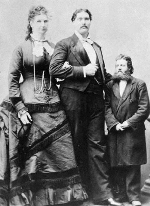 Самая высокая женщина ростом 2,29 м.   Фото: colors.life.