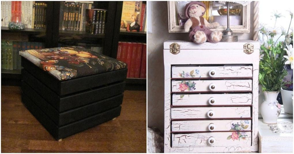 Новая мебель из старого хлама