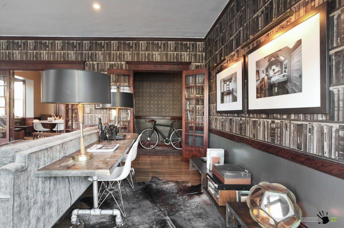 Фотообои для гостиной и кабинета