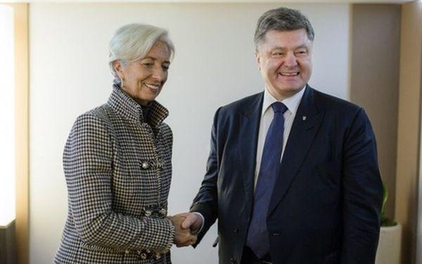 Украина получит отМВФ $1 млрд несмотря наскандал вНациональном банке