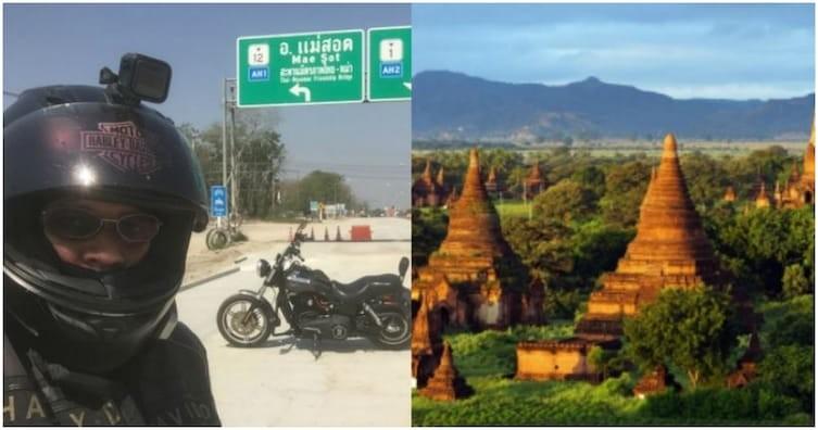 Путешествие по Азии — на мотоцикле за 40 дней