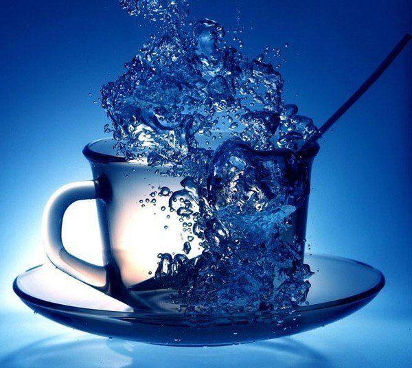 В какое время нужно пить воду?