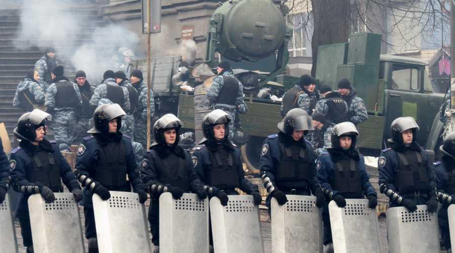 Киевский майдан глазами сева…