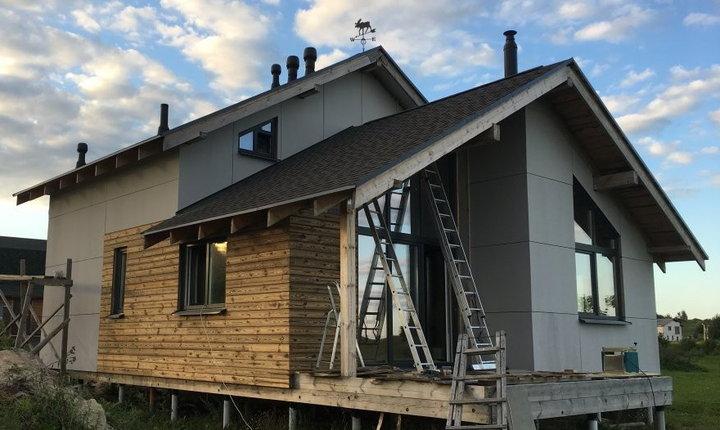 Как я строю каркасный дом: инструкции по утеплению водопровода и стяжке пола в доме на сваях