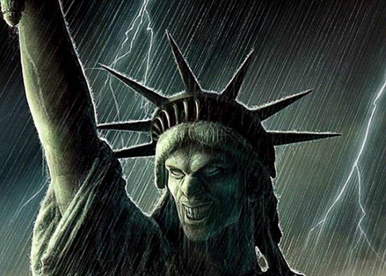 Разъединённые Штаты Америки & «патриоты» и истерика западной прессы
