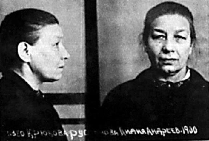 Заключенная Лидия Русланова