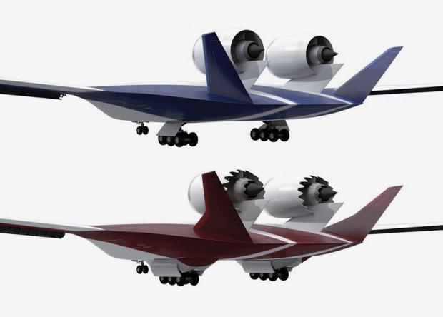 NASA сделает «смешанное крыло» фантастически тихим