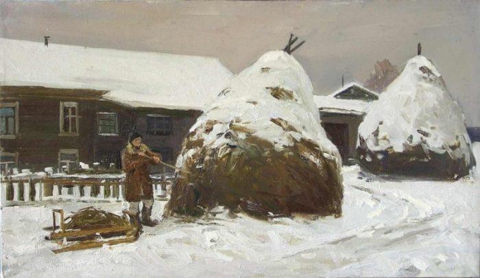 художник Ирина Рыбакова картины – 09