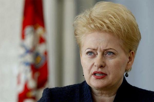 Грибаускайте: мечтаю оволнах возвращающихся изэмиграции литовцев