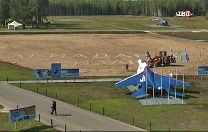 В Рязанской области истребители продемонстрировали свое мастерство