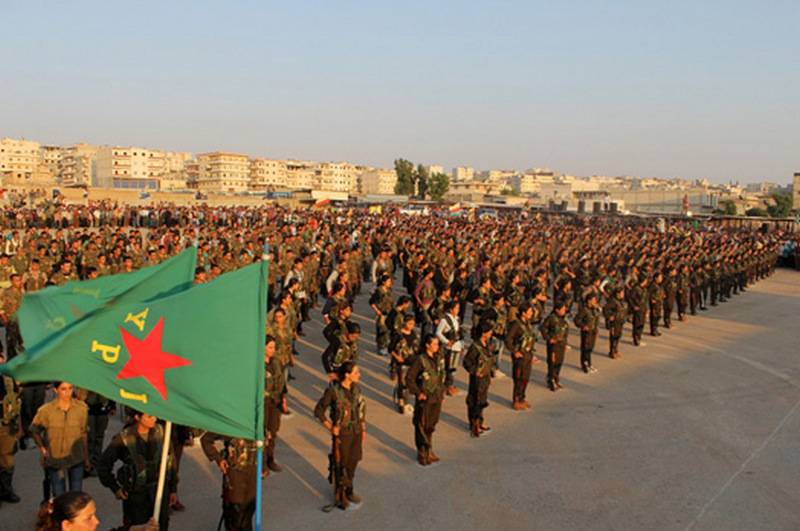 Анкара удивлена предложением Пентагона направить YPG на борьбу с РПК