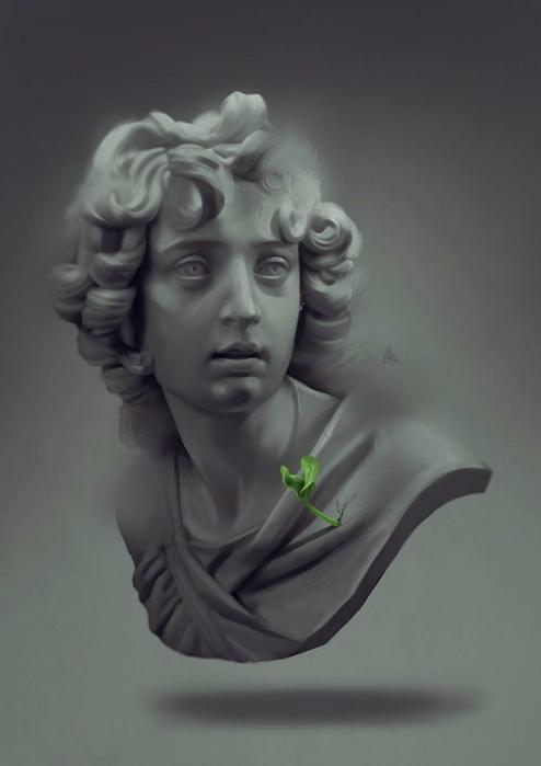 Айкут Айдогду(Aykut Aydogdu) - художник из Стамбула,мастер цифровой живописи