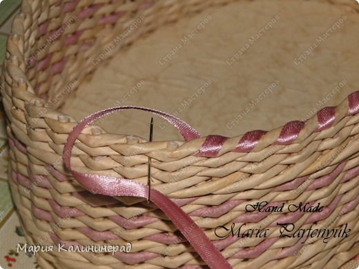 Очень красивые плетенки из газет от Марии Калининград (73) (520x390, 173Kb)