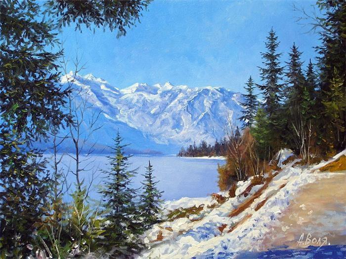 художник Александр Воля картины - 21