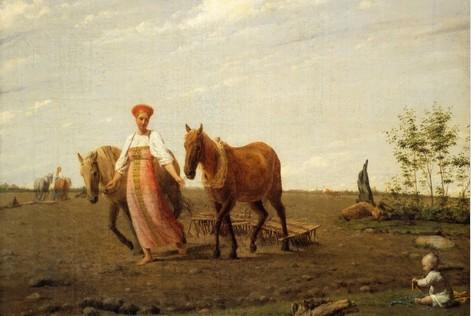 Бедствовал ли крестьянин на …