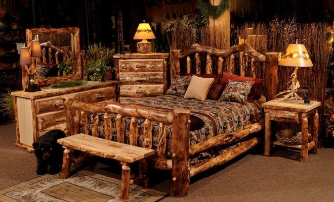 мебель в стиле рустик