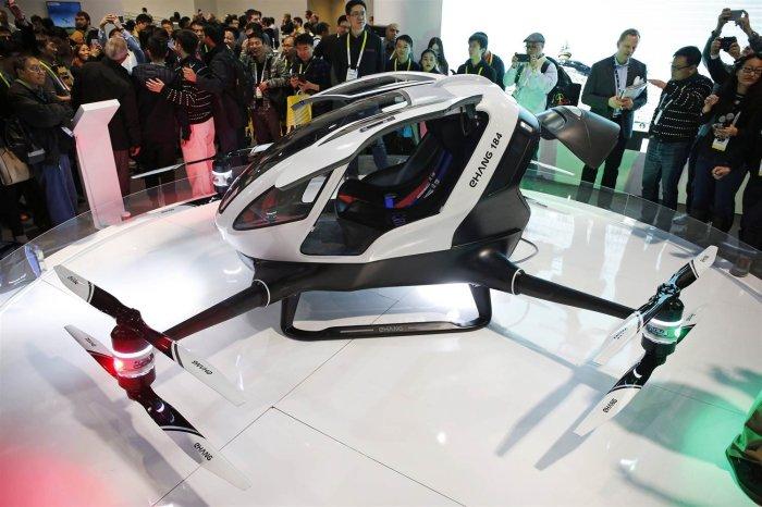 Это птица? Это самолет? Нет, это вертолет! Этим летом в Дубае запустят воздушное такси
