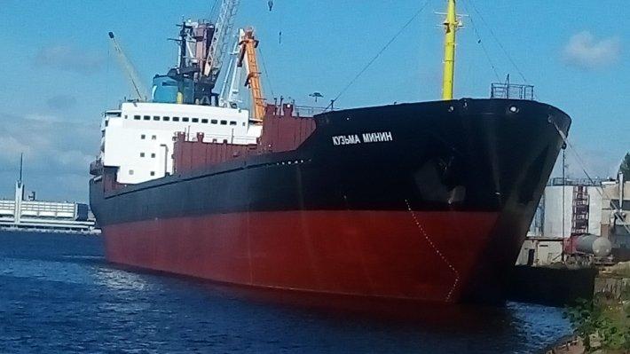 «Кузьму Минина» сняли с мели у берегов Британии — сервис MarineTraffic