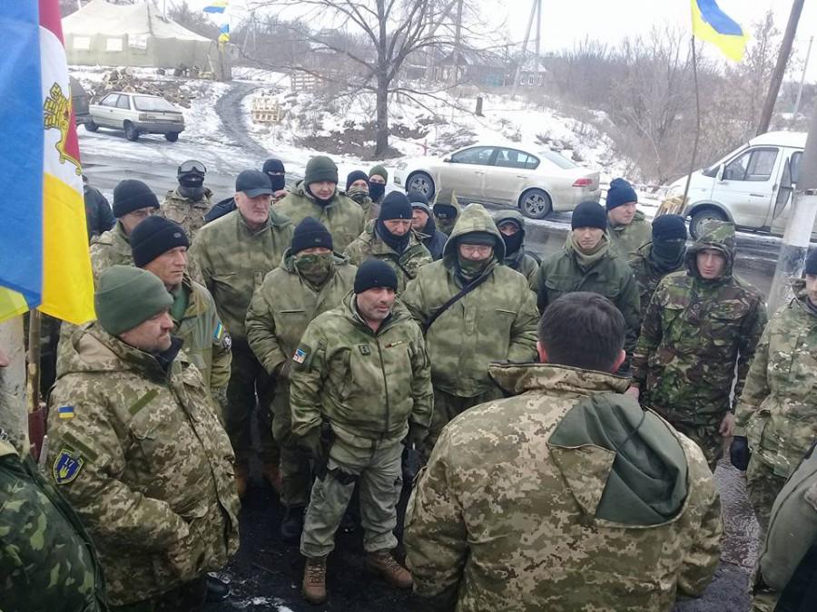 Одна из фракций Верховной Рады в полном составе отправляется поддерживать блокаду Донбасса