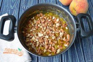 Варенье из персиков с грецкими орехами - фото шаг 6