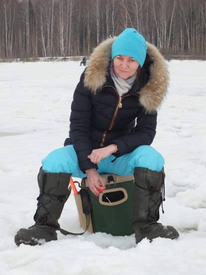 Рыбалка на охотничьем кордоне