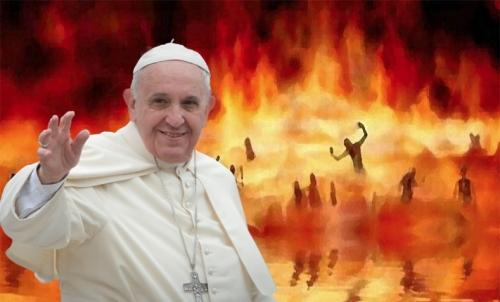 Папа Франциск утверждает, что Ада не существует!