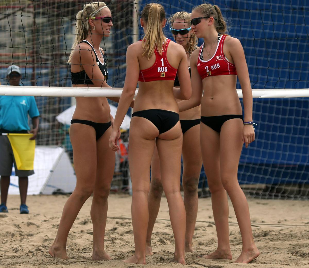 Секс в пляжном волейболе