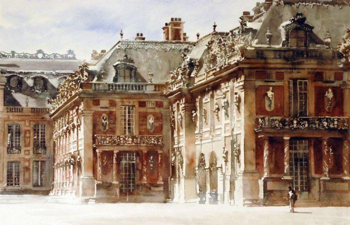 Акварельная архитектура: потрясающие картины польского художника Павла Дмоха